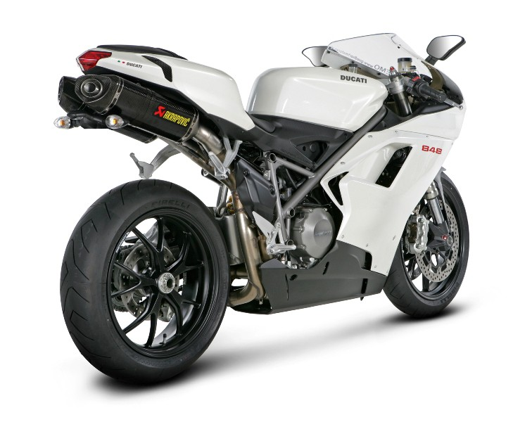 akrapovic auspuff ducati 1098r 08 09 slip on line. Black Bedroom Furniture Sets. Home Design Ideas