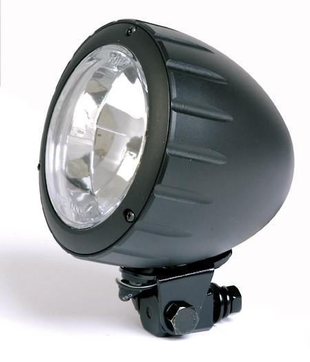 scheinwerfer alu arizona 90mm schwarz mit unterer. Black Bedroom Furniture Sets. Home Design Ideas
