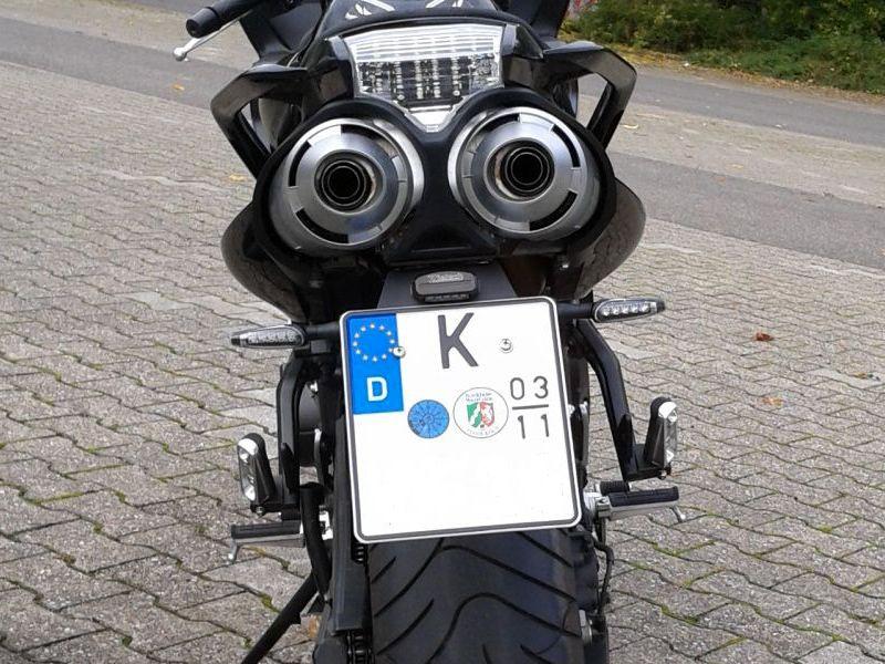 Kennzeichenhalter Yamaha Fz6 Fazer S1 S2 Neu