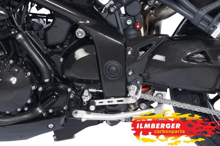ILMBERGER Ritzelabdeckung Carbon   Triumph Speed Triple ab 2011