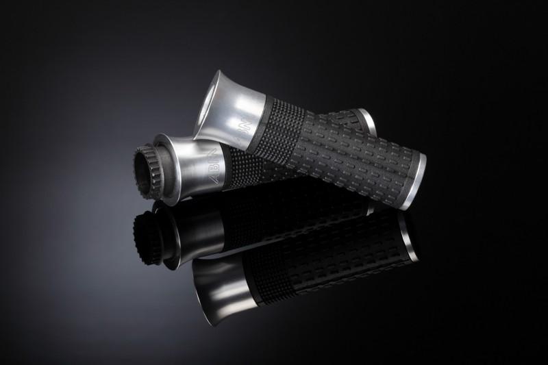 abm s grip motorrad griffe alu gold ebay. Black Bedroom Furniture Sets. Home Design Ideas