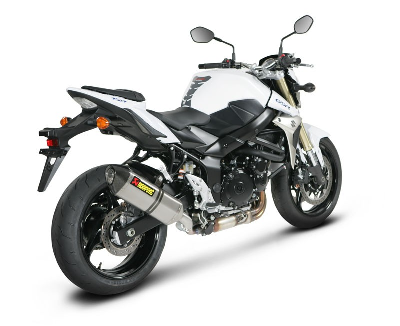 227400 akrapovic auspuff slip on suzuki gsr 750 11 12 carbon hexagonal inkl a ebay. Black Bedroom Furniture Sets. Home Design Ideas