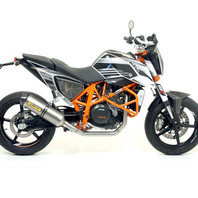 241862 escape arrow ktm 690 duke 08 alu ktm 690 duke duke a2 08 ebay. Black Bedroom Furniture Sets. Home Design Ideas