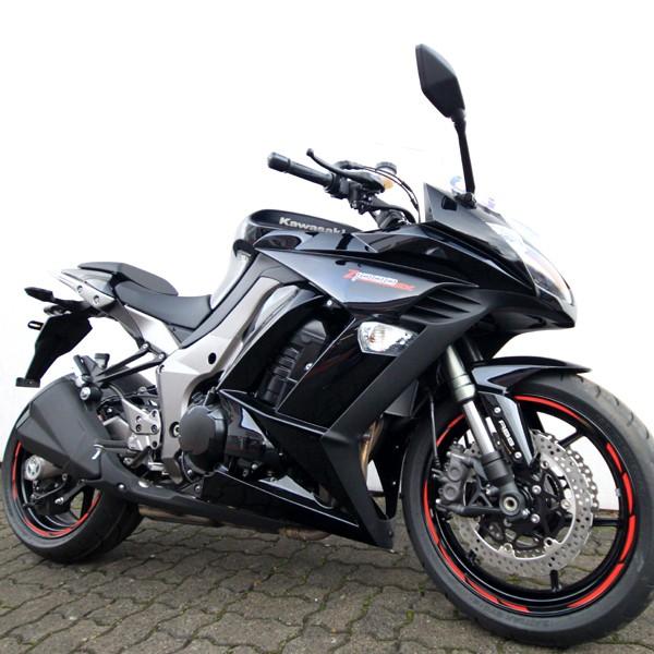 500315 Felgenrandaufkleber Motorrad Roller Auto 7mm ORANGE